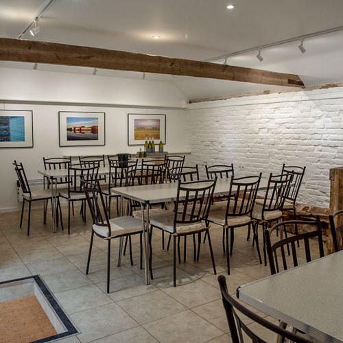 New tasting room and gallery